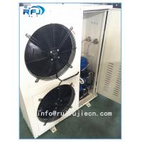 Wholesale DD-2.8/15 DD Series Air Cooled Condenser In Refrigeration , White / Black from china suppliers