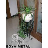 Wholesale Black Forged Iron Flower Pot Stands from china suppliers