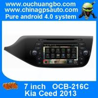 Wholesale Ouchuangbo Car Navi Multimedia DVD Player for Kia Ceed 2013 S150 Android 4.0 Auto Radio DSP sound-effects OCB-216C from china suppliers