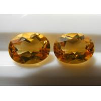 Wholesale 4.5 Carats Oval Loose Natural Citrine Gemstones For Children's Jewelry from china suppliers