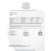 Global chemicals international Ltd Certifications