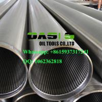 Wholesale Continuous slot wire wrapped johnson type water well screens China supplier from china suppliers