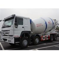 Wholesale HOWO 8X4 12M3 Ready Mix Concrete Truck 12 Cubic Meters With Mixer Drum from china suppliers