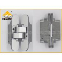 Wholesale Zinc Alloy Removable 3D Concealed Hidden Hinges For Kitchen Cabinets from china suppliers