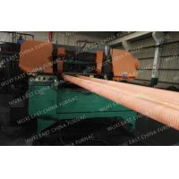 Quality Horizontal casting machine 100mm Red Copper Pipes Copper Continuous Casting Machine for sale