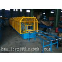 Wholesale CE Certificated 380V CZ Purlin Roll Forming Machine With PCL Control System from china suppliers