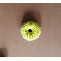 Wholesale OoMaLoo Hand Knit Squeaky Doughnut Dog Toy from china suppliers