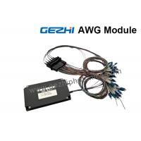Wholesale Dual 88-CH 50GHz Flat-Top AWG DWDM Mux Demux with 1% Tap Monitor from china suppliers