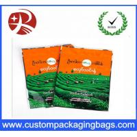 Wholesale Biodegradable Tea plastic packaging bags , Stand Up Zipper Bag Shock Resistant from china suppliers
