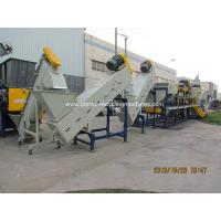 Wholesale Professional Plastic Recycling Machines For Jumbo Bags Crushing / Washing / Drying from china suppliers