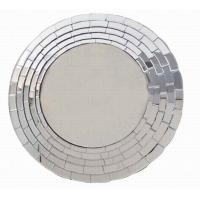 Buy cheap Wall Mirror In Round Shape With Brick-Shape Design from wholesalers
