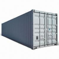Quality 40ft Dry Freight ISO Cargo Container with 2 Manifest Boxes, Customized Requirements are Accepted for sale
