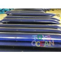 Wholesale Customized Bule Inflatable Tube Inflatable Floating Water Game For lake from china suppliers