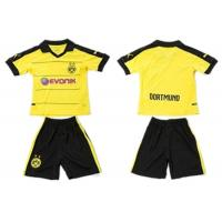 Wholesale Short Roma Kids Soccer Jersey Dortmund Arsenal Dry Fit Children Football Uniform from china suppliers