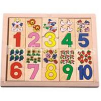 Wholesale Count puzzle /wooden puzzle /wooden toys /number puzzle from china suppliers