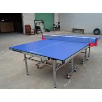 Wholesale MDF Top And Edge Free Single Folding Ping Pong Table , Easy To Store Rackets And Balls from china suppliers