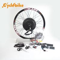 Wholesale 72v 3000w Electric Bicycle 700c Hub Motor Wheel Kit With Sine Wave Controller from china suppliers