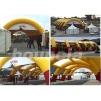 Wholesale 30*15m Inflatable Paintball Arena With Professional Paintball Netting For Paintball Game from china suppliers