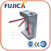 Quality Vertical RFID Card Tripod Turnstiles for Access Control Management System for sale