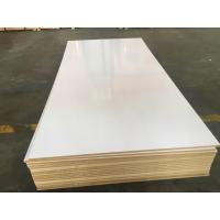 Wholesale MELAMINE MDF.TITANIUM WHITE HIGH GLOSSY MDF,E2 GLUE from china suppliers