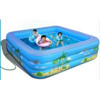Wholesale Three tubs full color pringting big inflatable pools for family , kids from china suppliers