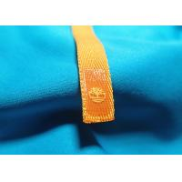 Quality Garment Woven Tags Custom Screen Printed Canvas Labels Custom Clothing Patches for sale