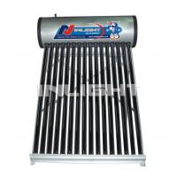 Wholesale 100L galvanized steel low pressure vacuum tube solar water heater from china suppliers