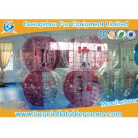 Wholesale Human Body Inflatable Bubble Soccer Club PVC 0.8mm - 1.0mm TPU 0.7mm - 1.0mm from china suppliers