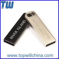 Wholesale Stainless Metal 32GB 64GB Usb Thumb Drive for Business Man with Key Chain from china suppliers