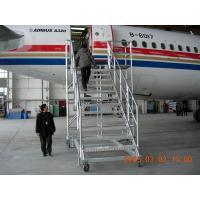 Wholesale Safe Aluminum Alloy castings Aircraft Scaffolding / Landing gear maintenance platform from china suppliers