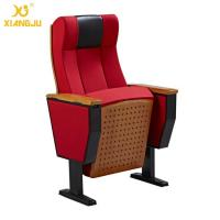 Wholesale Beech Wood Interlocking Seat Lecture Hall Seating With Folding Armrest from china suppliers