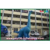 Wholesale 10m Blue Large Inflatable Dinosaur PVC Waterproof Blow Up Cartoon Characters Dragon from china suppliers