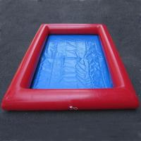 Wholesale 0.9mm PVC Tarpaulin Summer Inflatable Blow Up Swimming Pools For Swim / Shower from china suppliers