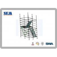 Wholesale Construction Q345 Hot Dip Galvanized Ringlock Scaffolding horizontal from china suppliers