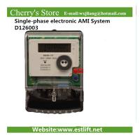 Wholesale electricity meter Single-phase electronic AMI System D126003 from china suppliers