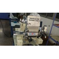 Quality 15 Colors Single Head Embroidery Machine With Sequin / Cording Device 125kgs for sale