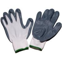 Wholesale XL Stretch Nylon Foam Palm Nitrile Coated Glove for mens hand protection NTNL from china suppliers