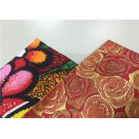 Wholesale Popular Floral Print Traditional Malaysian Batik Fabric 100% Pure Cotton Wax Cloth from china suppliers
