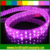 Wholesale waterproof DIP 144leds/m 5 wires flat led rope light 110v/220v from china suppliers
