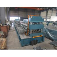 Wholesale Mitsubishi PLC Metal Guardrail Cold Roll Forming Machine with ISO9001 Quality System from china suppliers