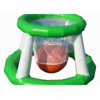 Wholesale Funny Inflatable Water Toys , Airtight Floating Inflatable Water Basketball Game from china suppliers