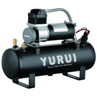 Wholesale Black 1.5 Gallon Air Compressor For Cars , Heavy Duty Air Compressor 12v from china suppliers