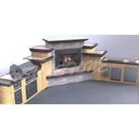 Wholesale Barbecue Grill BBQ Island from china suppliers
