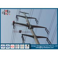 Buy cheap 10-220KV Steel Transmission Poles For Electrical Distribution Over Headline Project Q235 from wholesalers
