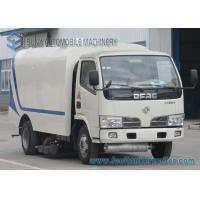 Wholesale Dongfeng 3500L Road Sweeper Truck Small 4 X 2 500KG 66KW 90HP from china suppliers