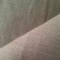 Buy cheap Cool Gray Natural Hemp Fabric with Excellent Absorbent Ventilation 530GSM 10Nm / 2 * 10Nm / 2 from wholesalers