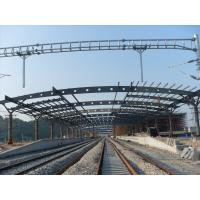 Wholesale Railway Station Structural Metal Truss Buildings, Rust-proof Painting with 2-4 Layers from china suppliers