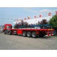 Wholesale Trailer (3 Axes or 2 Axes) for Two 20 Ft Container or One 40 Ft Container from china suppliers