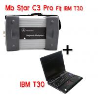 Wholesale Mercedes Diagnostic Tool MB STAR C3 With IBM T30 laptop For Mercedes Car , Bus , Sprint , Smart from china suppliers