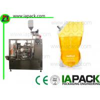 Quality Stand-up Bag Edible Oil Pouch Packing Machine Auto 6 Working Station Up to 50 Bags/Min for sale